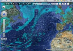 Pro2, Group Mode, GFS Wind, Pressure, Precipitation