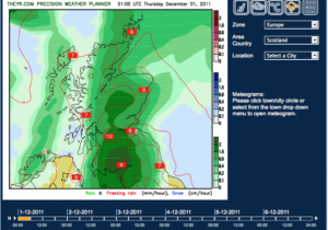 Pro, 10km High-Resolution Precipitation, Scotland