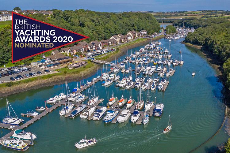 Neyland Yacht Haven nominated in British Yachting Awards