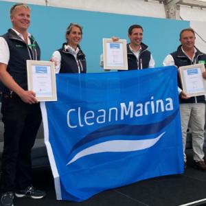 Portishead Marina becomes a Clean Marina